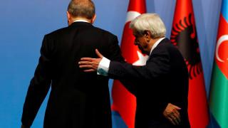 Ο Ερντογάν ακύρωσε τη συνάντησή του με τον Προκόπη Παυλόπουλο