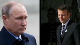 Στη Γαλλία ο Πούτιν - Πότε θα συναντηθεί με τον Μακρόν