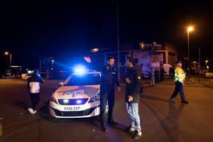 Η περιοχή έξω από το Manchester Arena έχει αποκλειστεί από την αστυνομία