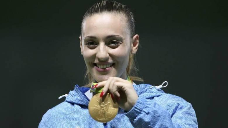 Το χρυσό μετάλλιο κατέκτησε η Άννα Κορακάκη στο Μόναχο
