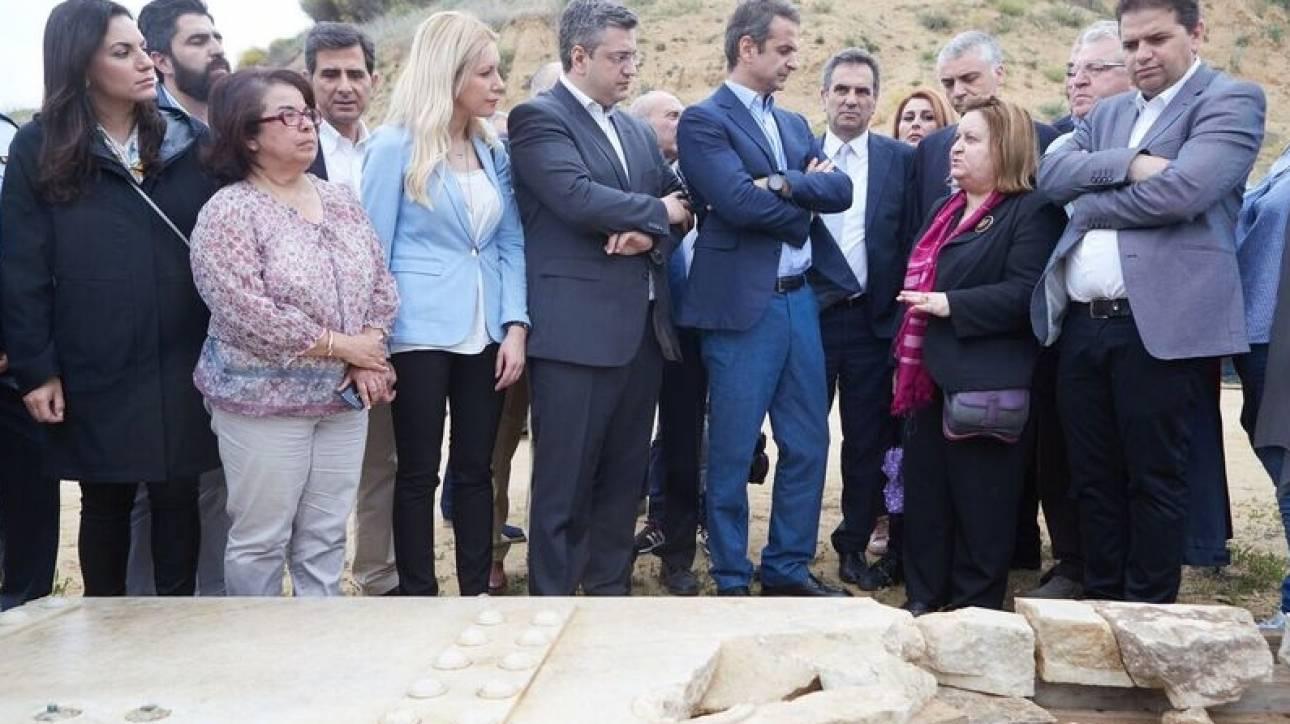 Μητσοτάκης για Αμφίπολη: Μοναδικό μνημείο, παγκόσμιας πολιτιστικής σημασίας (pics)