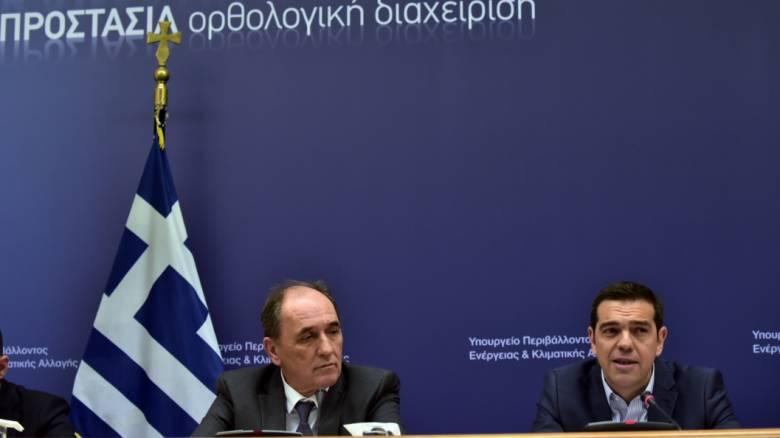 Τσίπρας: Αύριο υπογράφονται τρία συμβόλαια για την εκμετάλλευση υδρογονανθράκων (vid)