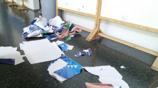 Ένταση στις φοιτητικές εκλογές σε Αθήνα και Θεσσαλονίκη (pics)