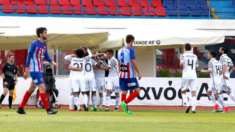Super League: Με «σπόντα» πέρασε από τη Ν. Σμύρνη ο ΠΑΟΚ