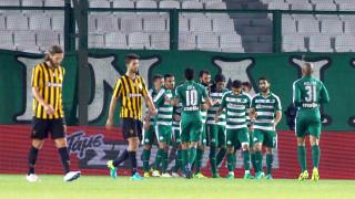 Super League: Ο Παναθηναϊκός «τελείωσε» την ΑΕΚ