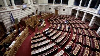 Μαλλιά κουβάρια έγιναν στη Βουλή Ασημακοπούλου - Συρμαλένιος