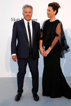Dustin Hoffman & η σύζυγος του Lisa