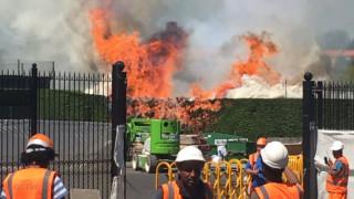 Στις φλόγες το τένις κλαμπ του Γουίμπλεντον (pic)