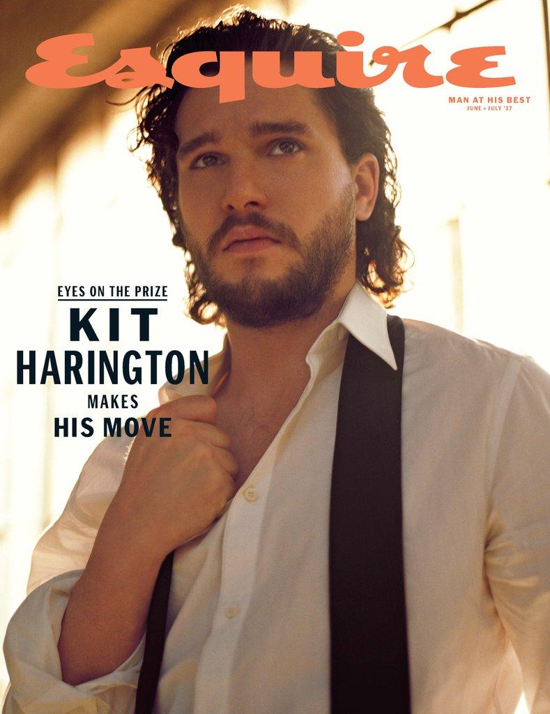 Kit Harington Esquire June July 2017 Cover 1