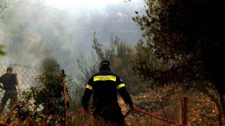 Αργολίδα: Πυρκαγιά απειλεί κατοικημένη περιοχή
