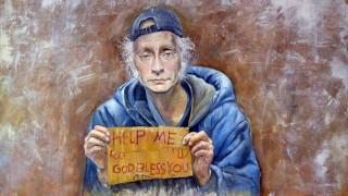 Ο καλλιτέχνης που κάνει τους ηγέτες πρόσφυγες