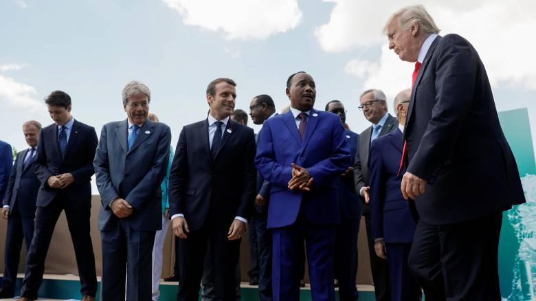 G7: Αγεφύρωτες οι διαφορές για την κλιματική αλλαγή