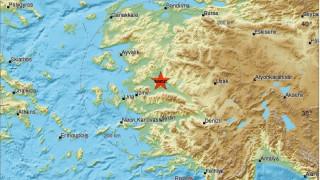 Σεισμός 5 Ρίχτερ βορειοανατολικά της Σμύρνης