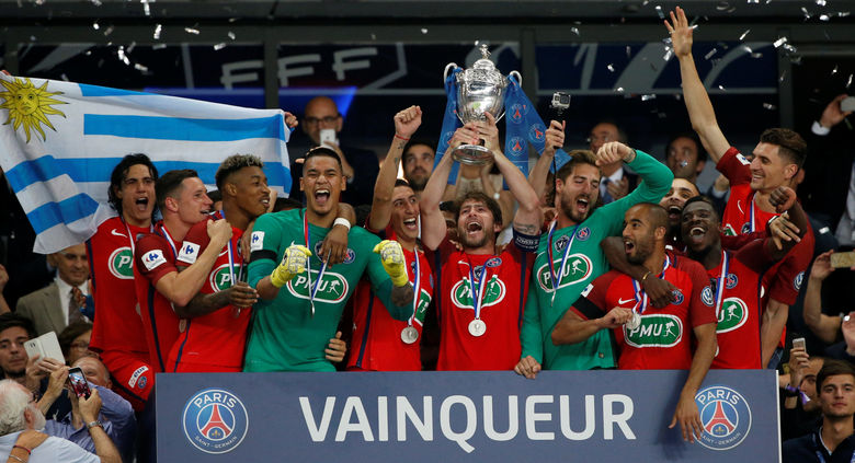 2017 05 27T213306Z 1193507425 RC1BFE0770A0 RTRMADP 3 SOCCER FRANCE CUP