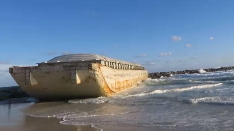 Φλόριντα: Πλοίο - «φάντασμα» ξεβράστηκε στις ακτές (Vid)