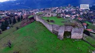 Το κάστρο της Ιταλίδας «Κυράς των Θερμοπυλών» από ψηλά (vid)