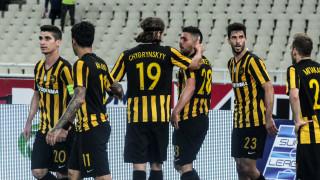 Super League: Νίκη ελπίδας για την ΑΕΚ επί του ΠΑΟΚ στο ΟΑΚΑ
