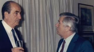H ιστορική ομιλία του Μητσοτάκη στη Βουλή για τον Παύλο Μπακογιάννη (vid)