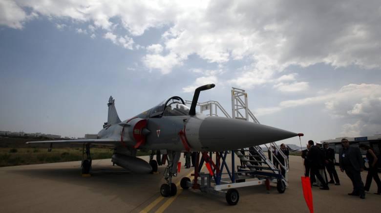 Πτώση Mirage στις Σποράδες - σώος ο πιλότος