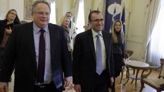 Συνάντηση Κοτζιά-Άιντε: Ο τουρκικός στρατός πρέπει να φύγει από την Κύπρο