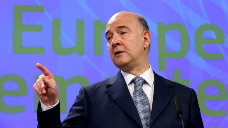 Αισιόδοξος ο Μοσκοβισί ότι θα υπάρξει συμφωνία στο Eurogroup της 15ης Ιουνίου