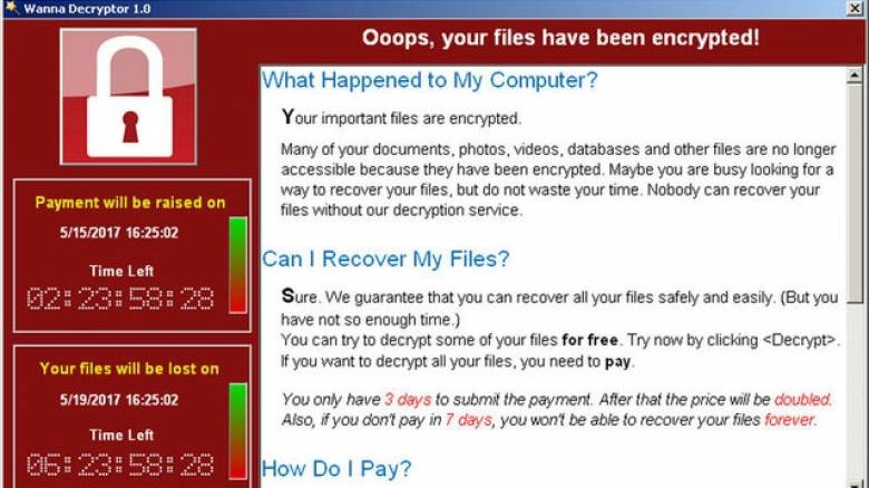 WannaCry: Χάκερς που γνωρίζουν κινεζικά πίσω από την παγκόσμια κυβερνοεπίθεση