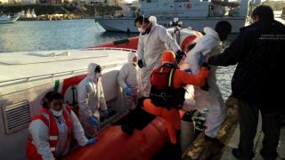 Ιταλία: 58 μετανάστες νεκροί και πάνω από εκατό αγνοούμενοι μέσα σε μία εβδομάδα