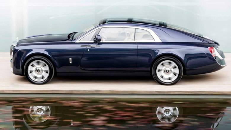 Η μία και μοναδική Rolls Royce Phantom Sweptail έχει το στυλ της δεκαετίας του '20