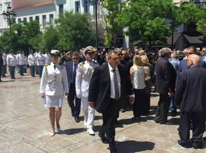 Ο υπουργός Εθνικής Άμυνας, Πάνος Καμμένος