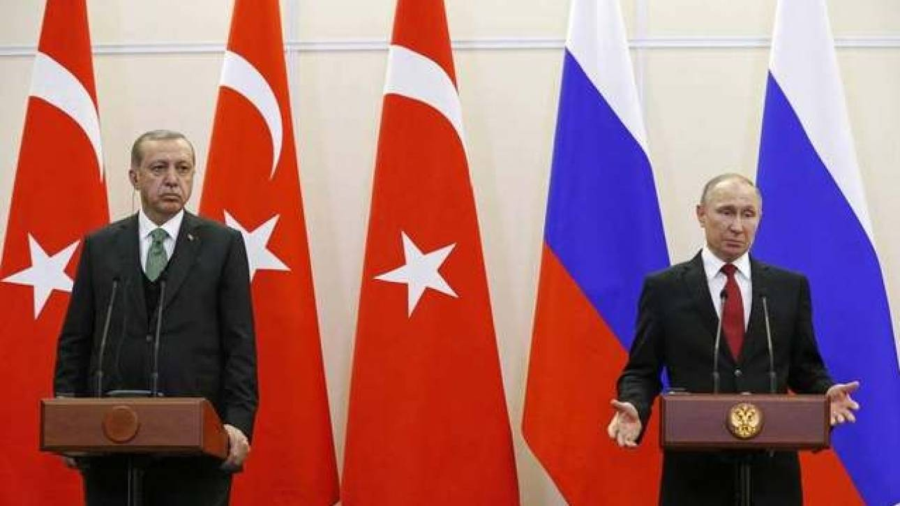 Ο Πούτιν ήρε μέρος των κυρώσεων που είχαν επιβληθεί κατά της Τουρκίας