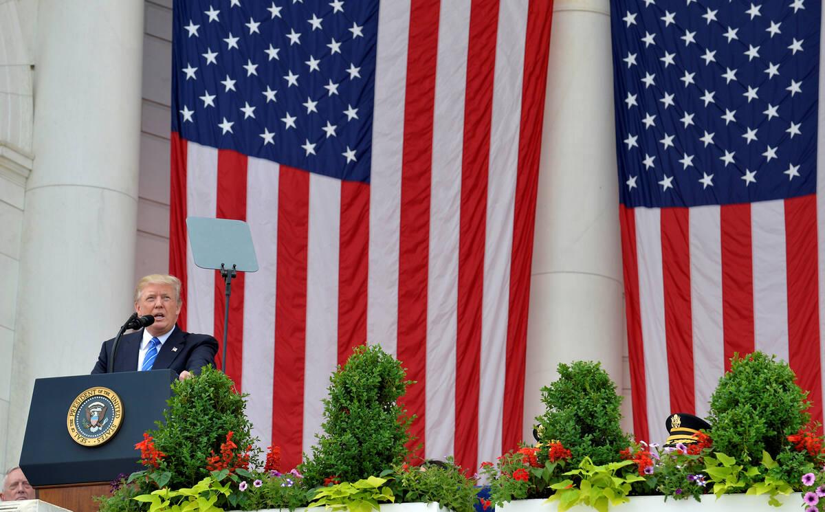2017 05 29T154959Z 957862044 RC1E4C2E65A0 RTRMADP 3 USA TRUMP MEMORIAL DAY