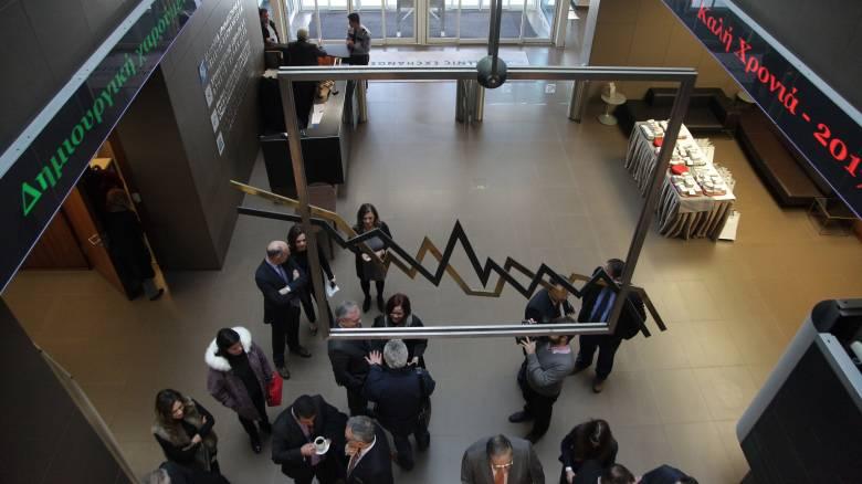 Ανοδικές τάσεις στη συνεδρίαση του Χρηματιστηρίου Αθηνών