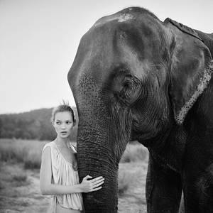 Kate Moss, Νεπάλ, 1993.
