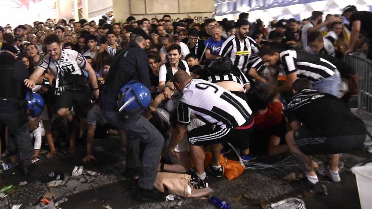 Αποτέλεσμα εικόνας για Πανικός στο Τορίνο