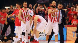 Α1 μπάσκετ: Κράτησε το πλεονέκτημα έδρας ο Ολυμπιακός με νίκη στο φινάλε