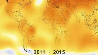 Εκατό χρόνια υπερθέρμανσης του πλανήτη σε λιγότερο από ένα λεπτό (vid)