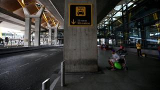 Κίνα: Νεαρή χαστουκίζει υπάλληλο αεροδρομίου επειδή έκλεισε το τσεκ ιν (vid)