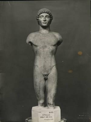Ο Απόλλων της Ανάφης στο Βρετανικό Μουσείο