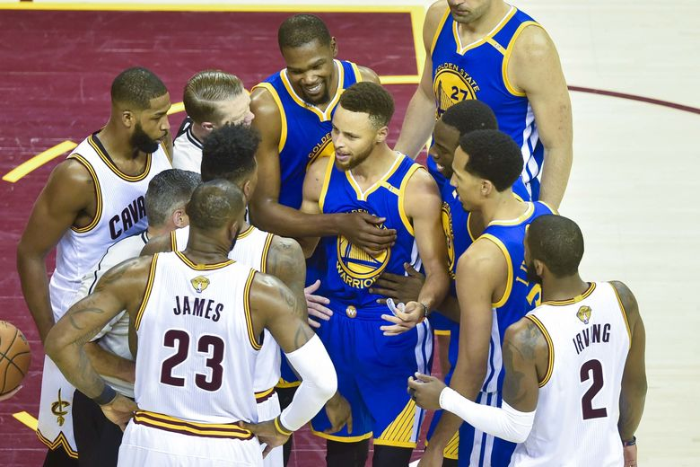 2017 06 08T024600Z 1059100463 NOCID RTRMADP 3 NBA FINALS GOLDEN STATE WARRIORS AT CLEVELAND CAVALIERS