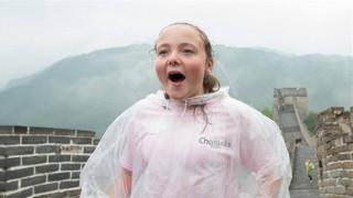 Η μεγαλύτερη βόλτα της θαρραλέας 11χρονης ΑΜΕΑ στο μεγαλύτερο Τείχος