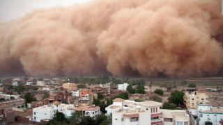 Πελώριο «χαμπούμπ» σάρωσε το Σουδάν