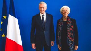 Για το Eurogroup της 15ης Ιουνίου συζήτησε με την Λαγκάρντ ο Γάλλος ΥΠΟΙΚ