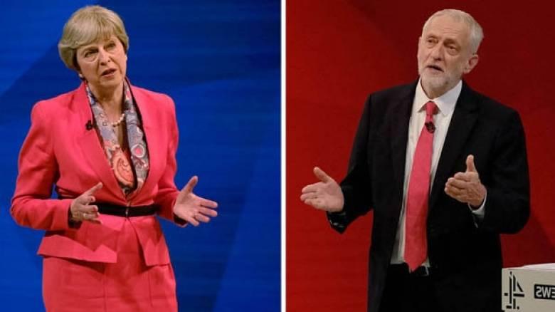 Βρετανικές εκλογές: Ολονύχτιος εφιάλτης για την Μέι - Τα σενάρια της επόμενης ημέρας (pics&vids)