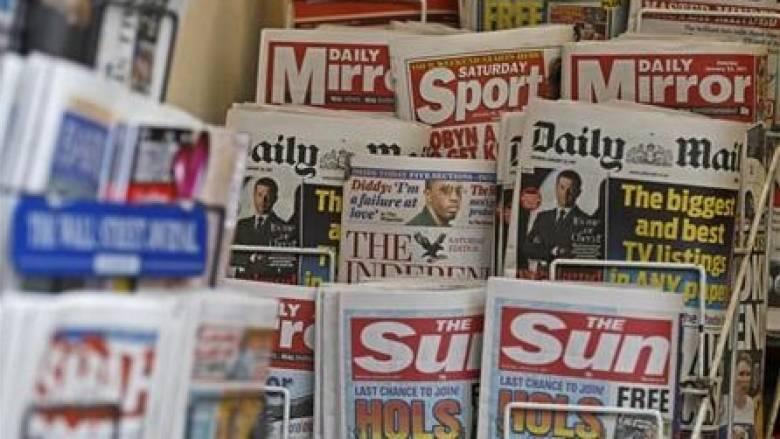 Τα πρωτοσέλιδα του Βρετανικού Τύπου: Το «παιχνίδι» της Μέι γύρισε μπούμερανγκ