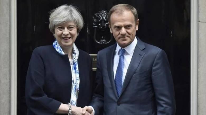 Τουσκ προς Βρετανία: Να αποφύγουμε το ενδεχόμενο μη συμφωνίας περί Brexit