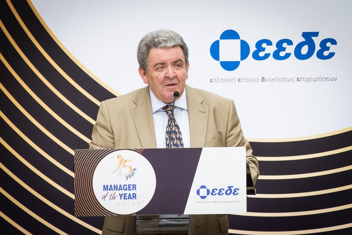 Πρόεδρος του ΔΣ της ΕΕΔΕ Κωνσταντίνος Λαμπρινόπουλος
