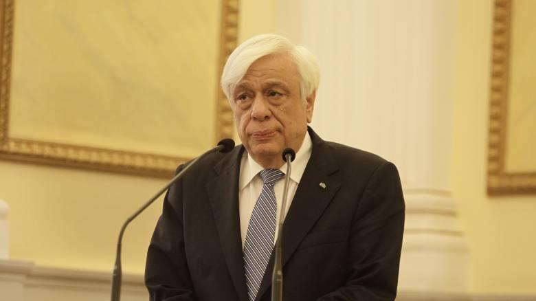 Π.Παυλόπουλος: Δίστομο σημαίνει να μην ξεχνάμε το ναζισμό (pics)