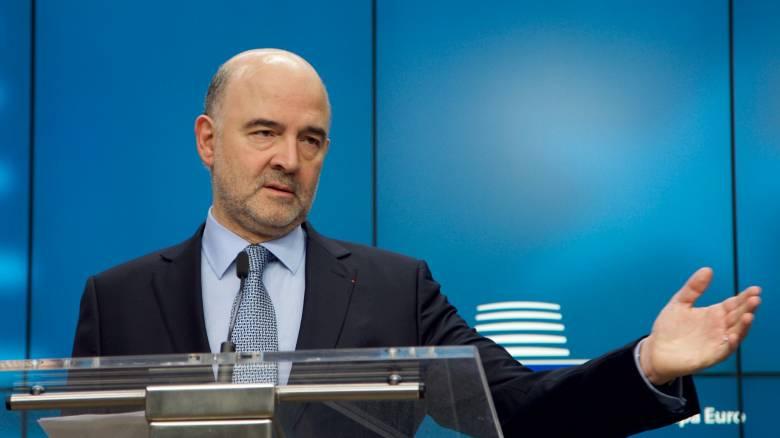 Μοσκοβισί: Ώρα να τηρήσουν οι πιστωτές τις δεσμεύσεις τους έναντι της Ελλάδας