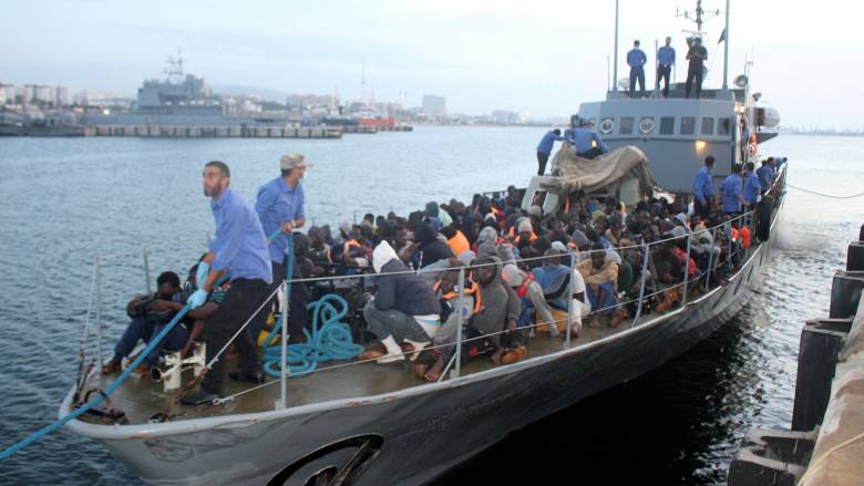 Διάσωση πάνω από 1.600 μεταναστών στην κεντρική Μεσόγειο