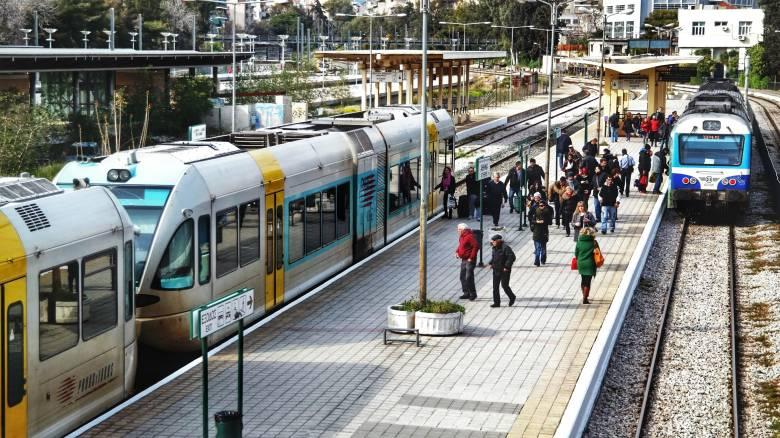 Προαστιακός: Μετ' εμποδίων η κίνηση των επιβατών τη Δευτέρα